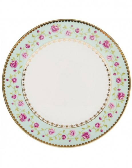 Big plate Ø 26 cm GARLAND OF ROSES