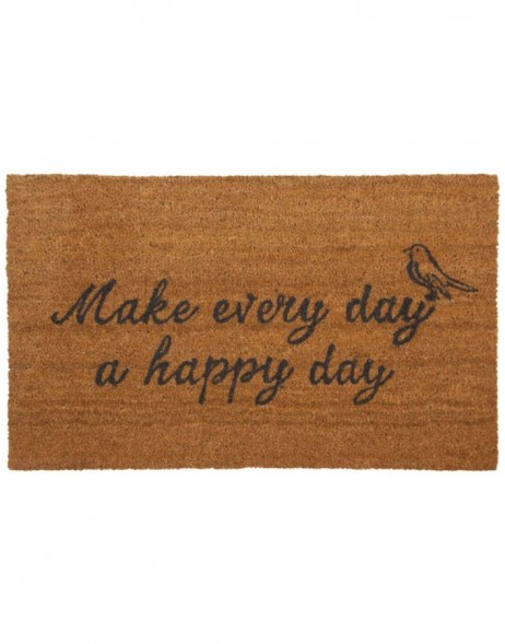 HAPPY DAY coco mat 75x45 cm