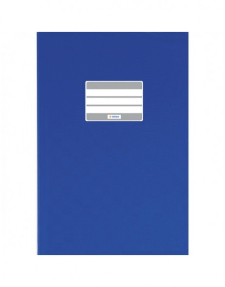 Exercise book cover PP A6 upright dark blue opaque
