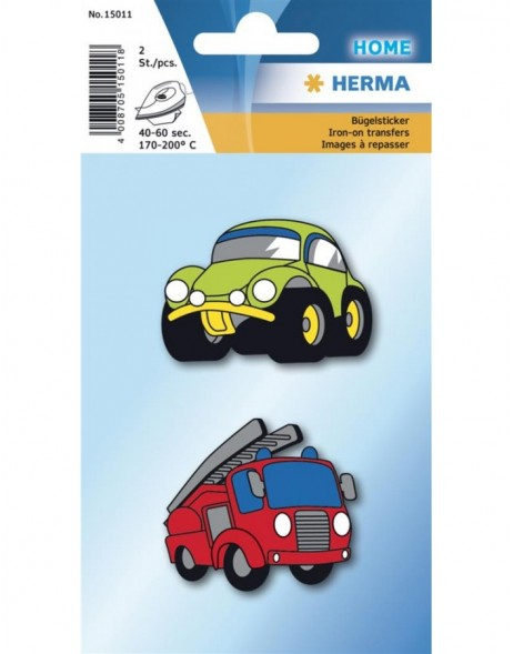 HERMA Iron on stickre cars