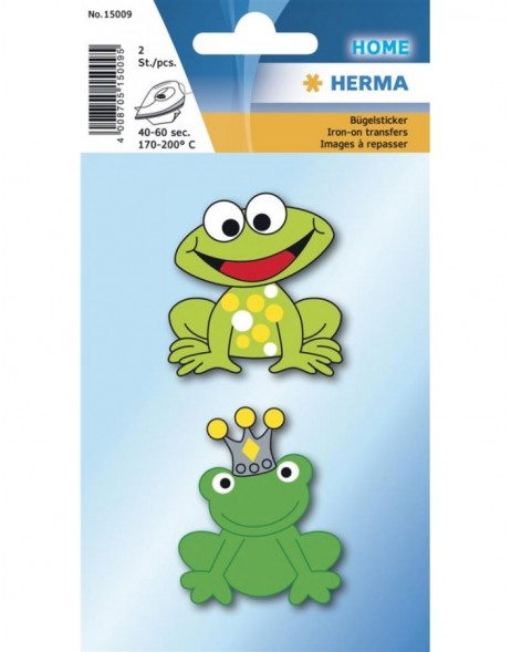 HERMA Iron on sticker frog