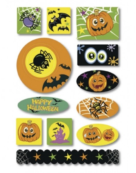 HERMA Sticker Halloween spider, Foam
