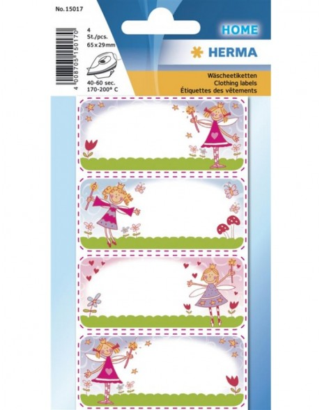HERMA Clothing labels princess