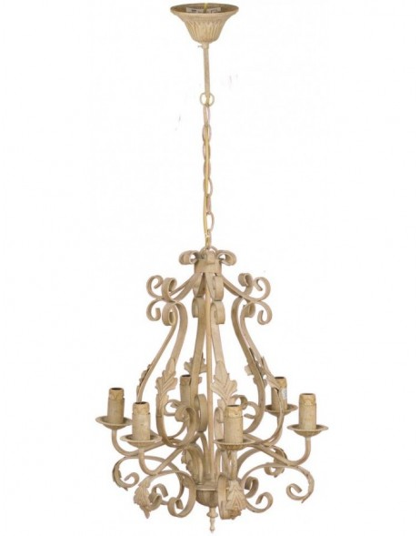 4Y0286 Clayre Eef hanging lamp