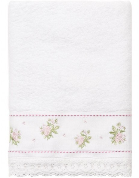 towel white - TOW0005MW Clayre Eef