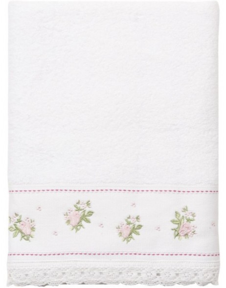 towel white - TOW0005LW Clayre Eef