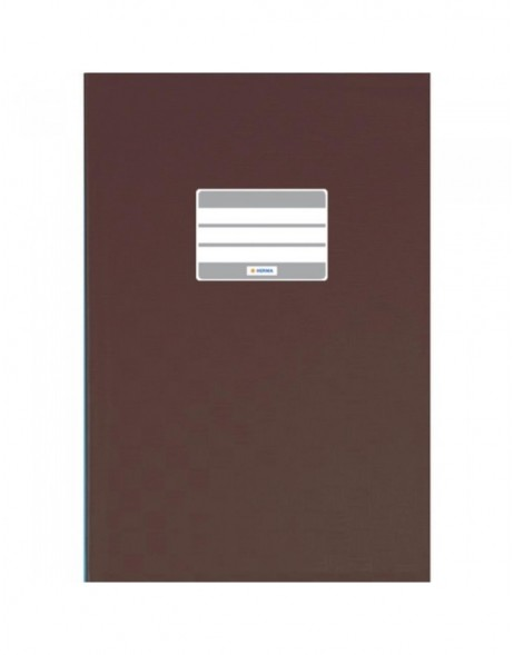 Exercise book cover PP A4 brown opaque