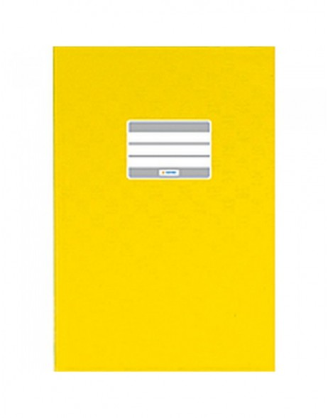 Exercise book cover PP A4 yellow opaque