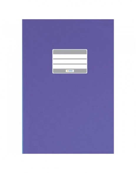 Exercise book cover PP A4 violet opaque