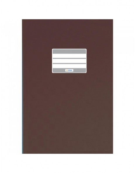 Exercise book cover PP A5 brown opaque