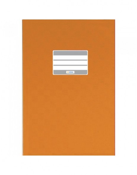 Exercise book cover PP A5 orange opaque
