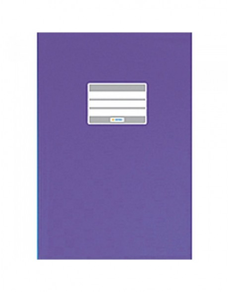 Exercise book cover PP A5 violet opaque