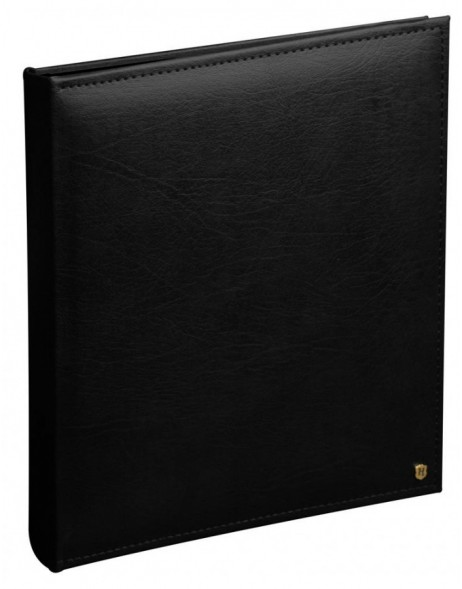 photo album LONZO black XL 30x36,6 black pages