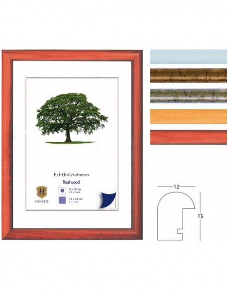 Henzo wooden frame Madora 4 colours