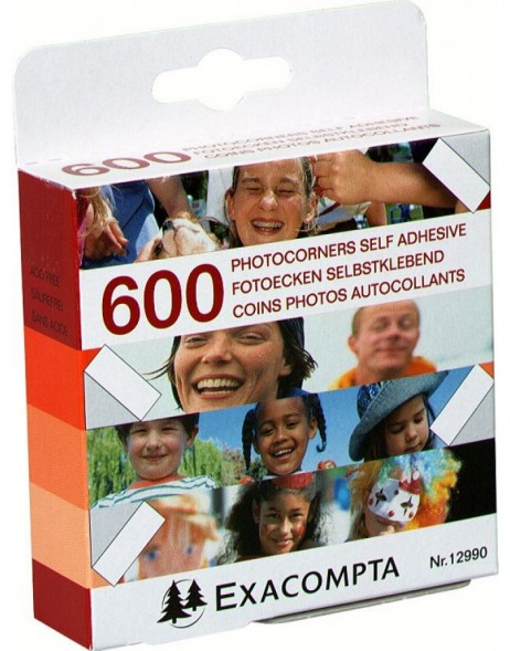 Exacompta photo corners 600 pieces
