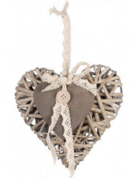heart hanger in the size 15x14 cm