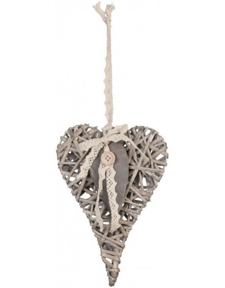 heart hanger in the size 15x21 cm
