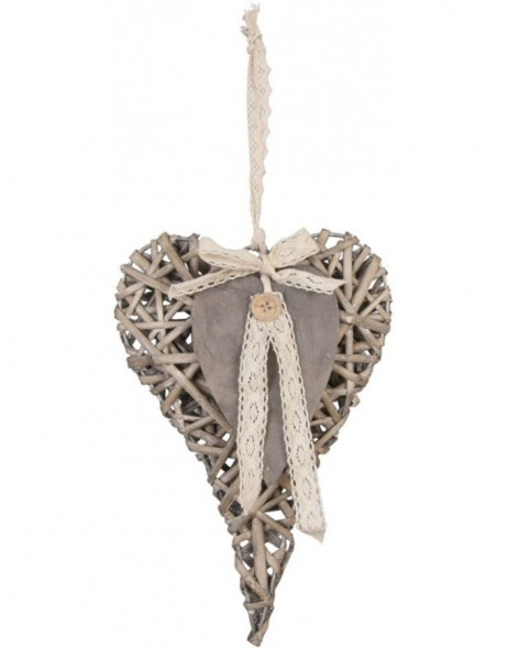 heart hanger in the size 20x30 cm