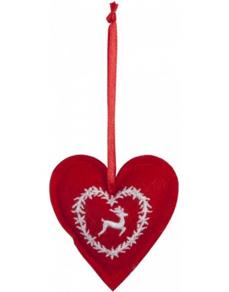 heart hanger in the size 6x6 cm