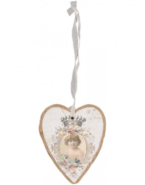 60695 heart-shaped pendant 8x10 cm
