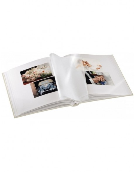Savona Bookbound Album, 30x33 cm, 50 white pages