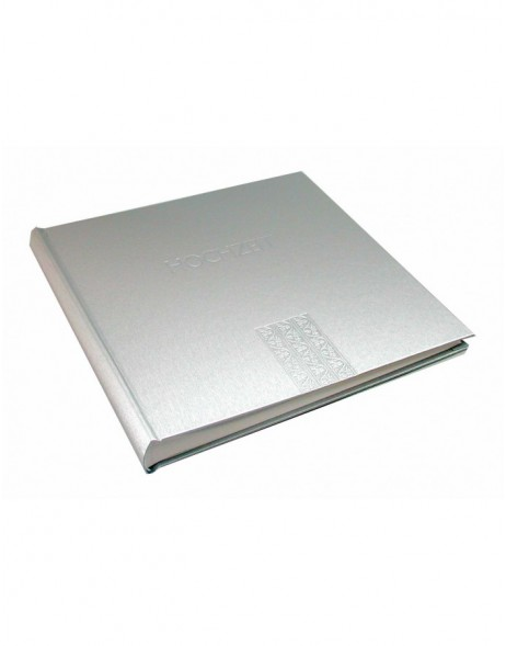 marriage photo album TITANIA silver