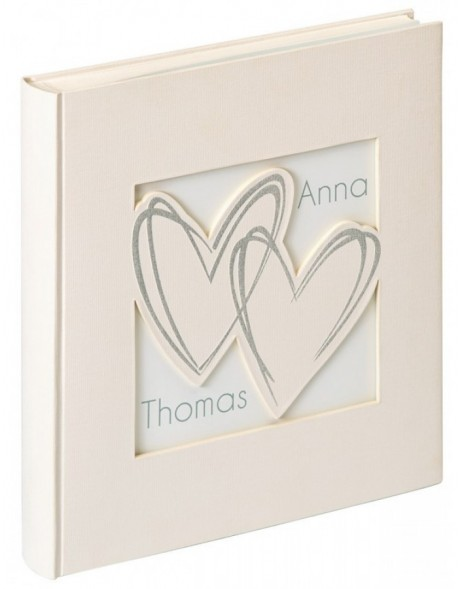 marriage photo album WITH ALL MY HEART 28x30,5 cm