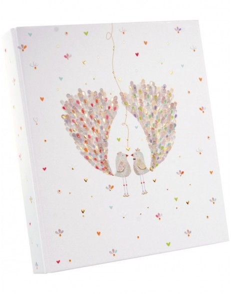Wedding folder A4 Birds