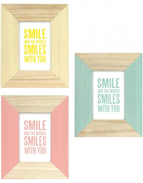 Wooden frame CANDY 10x10cm, 10x15cm and 13x18cm
