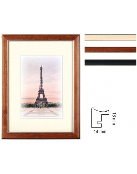 wooden frame Capital Paris 3 colour