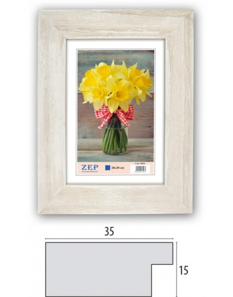 Wooden frame M81 - 10x15 cm to 30x45 cm
