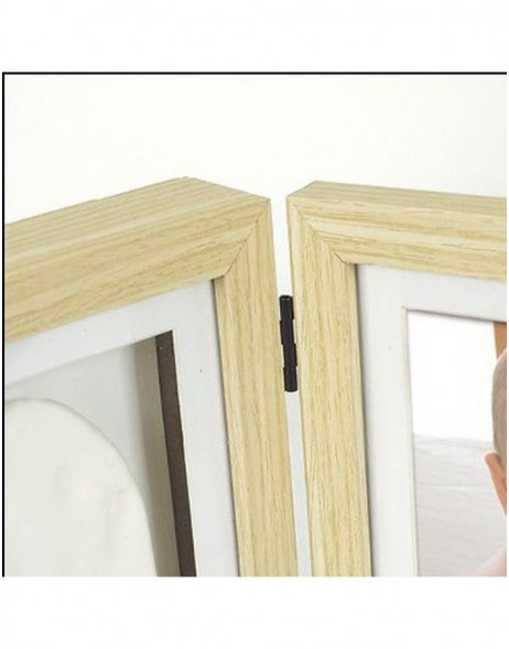 Wooden frames for baby footprints Abel