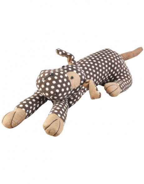 DOG draft stopper 72x17 cm dotted
