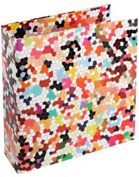 colourful ring binder - Mosaik by Janina Lamberty