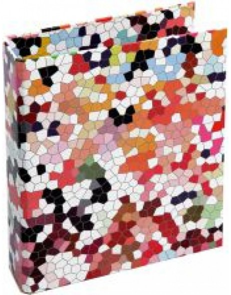 colouful ring binder - Mosaik by Janina Lamberty