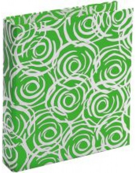 green ring binder - Rosen by Janina Lamberty