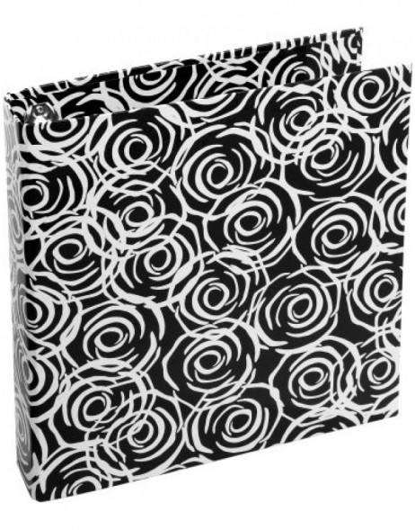 black ring binder - Rosen by Janina Lamberty