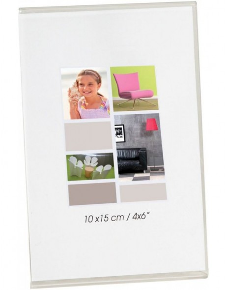 Brio acrylic photo frame 10x15 cm and 13x18 cm