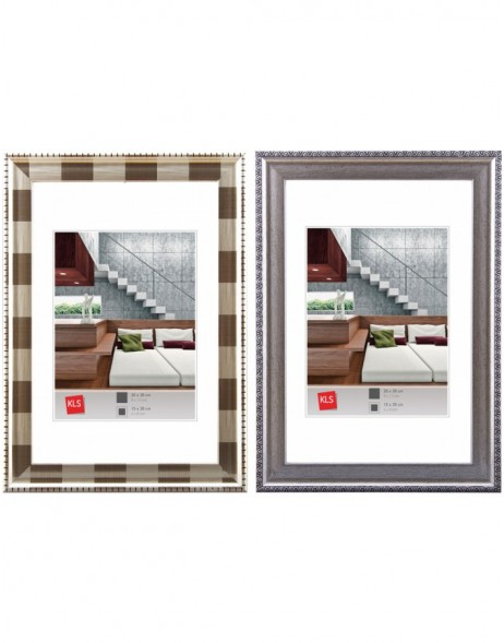 KLS plastic frame Series 48 - sizes 13x18 cm and 20x30 cm