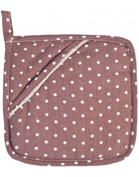 KT045.001A Clayre Eef potholder aubergine