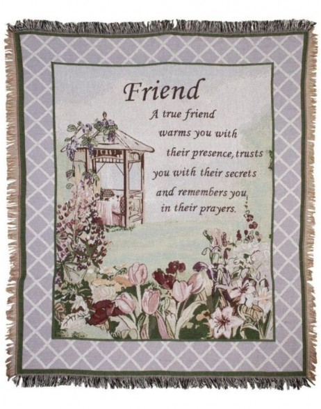 KT060.009 Clayre Eef Plaid FRIEND lila
