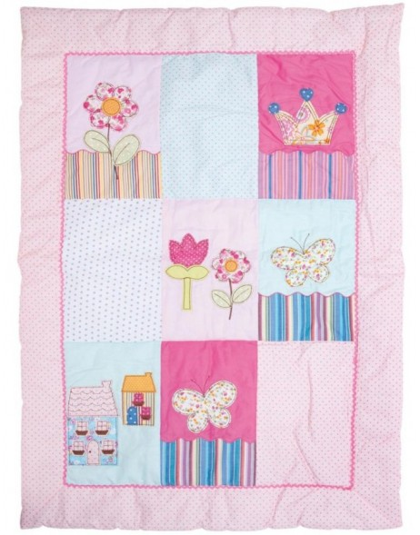 KT213.001 Clayre Eef PRINCESS play mat pink