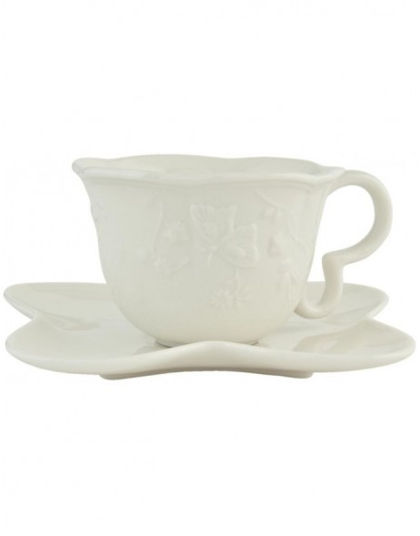 Graceful Butterfly - cup and saucer