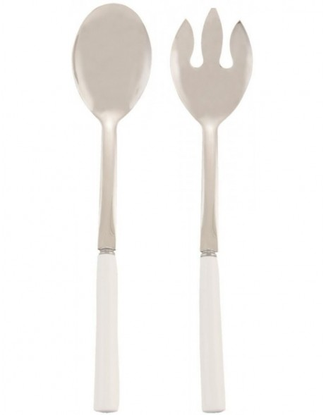 ceramic salad servers 62809F Clayre Eef 29 cm
