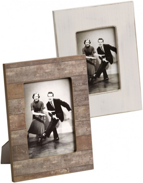 Kerry photo frame white and brown 10x15cm and 13x18cm