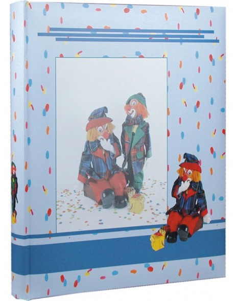 Kinderalbum Clowns blau