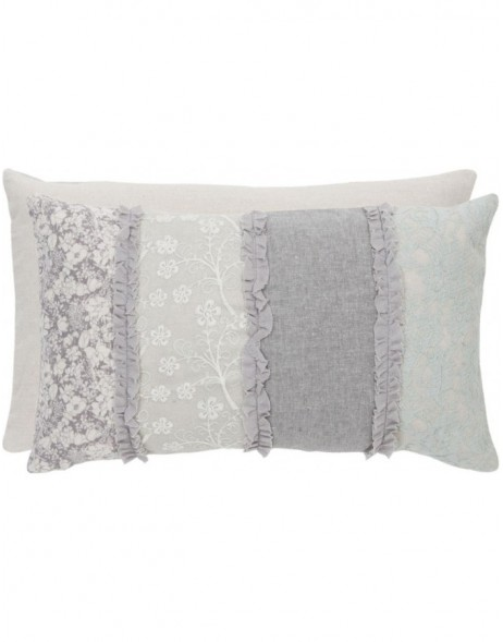 pillow with filling grey - KT036.030 Clayre Eef