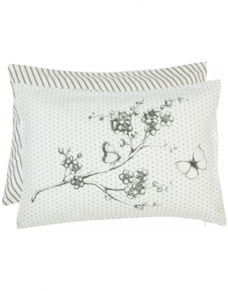 pillow with filling grey - LSB36 Clayre Eef