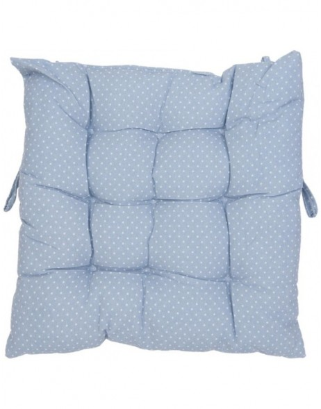 pillow with foam material light blue - KT029.009 Clayre Eef