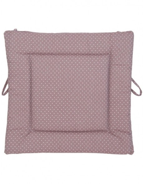 pillow with foam material eggplant - KT029.010 Clayre Eef